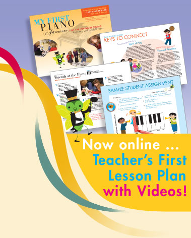 Now online... Teacher's First Lesson Plan with Videos